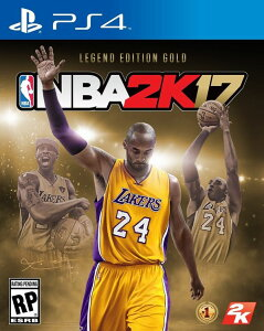 【予約】9月下旬発送予定Nba 2K17 Legends Gold PS4 レジェンドゴールド…