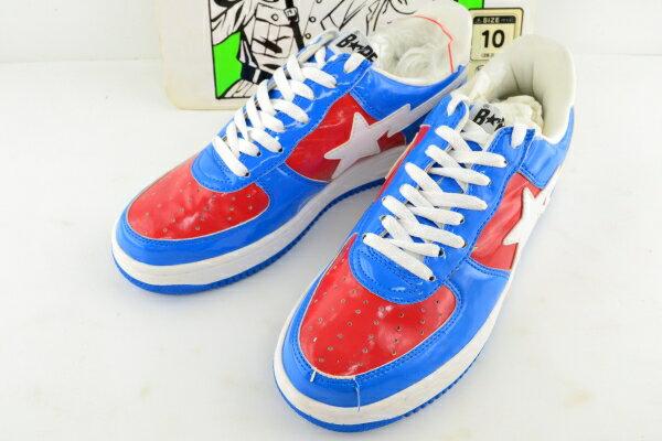 メンズ靴, スニーカー BAPESTA MARVEL COMICS CAPTAIN AMERICA FS-001 28cm 02r7180