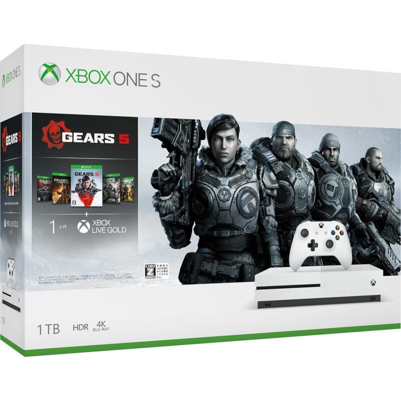 XboxOne, 本体 () Microsoft Xbox One S 1TB Gears 5 234-0103590CEROZ XboxOneS