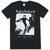 BAUHAUSバウハウスBelaLugosi'sDeadTシャツBLACK