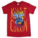 KURT COBAIN カートコバーン Sitting Chair Photo Tシャツ