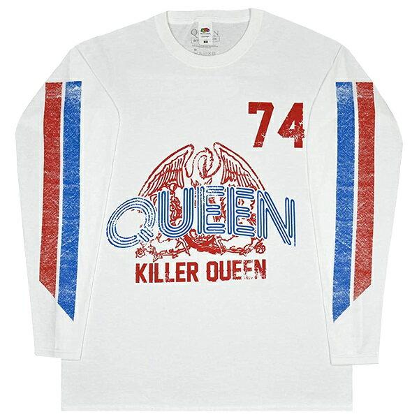 トップス, Tシャツ・カットソー QUEEN Killer Queen 74 Stripes T