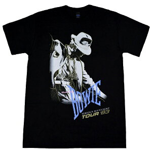 DAVID BOWIE デヴィッドボウイ Serious Moonlight Tour 83 Tシャツ