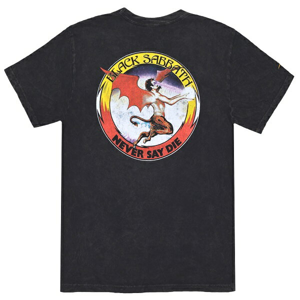 トップス, Tシャツ・カットソー BLACK SABBATH LAKAI Never Say Die Premium T