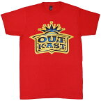 OUTKAST アウトキャスト Gold Crown Tシャツ