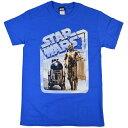 STAR WARS スターウォーズ Droids Retro Badge Tシャツ