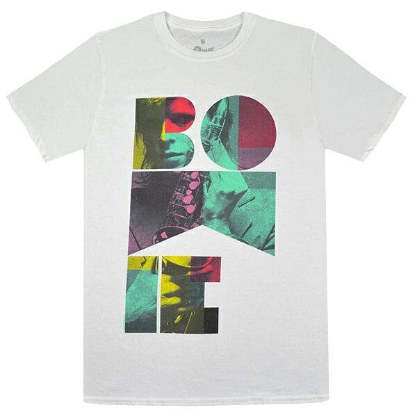 DAVID BOWIE デヴィッドボウイ Colour Sax Portrait Tシャツ