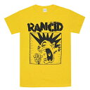 RANCID ランシド Screamimng Mohawk Tシャツ