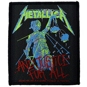 METALLICA メタリカ ...And Justice For All Patch ワッペン