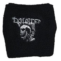 THE EXPLOITED エクスプロイテッド Mohican Skull リストバンド