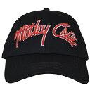 MOTLEY CRUE モトリークルー Logo ベースボールキャップ