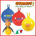 【あす楽★今ならダブルアクションポンプをプレゼント】ギムニク ホップボール45(イエロー)直径45cm 適用身長130cm〜144cm ギムニク バランスボール