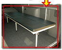 NV350キャラバン用 片面跳ね上げベッド