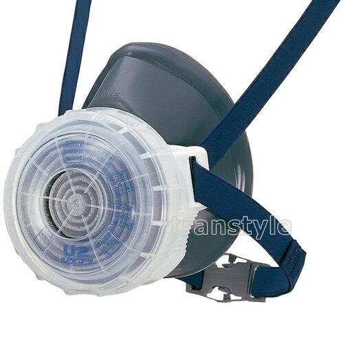 シゲマツ/重松防じんマスク 取替え式防塵マスク DR76U2S-RL2 M/Eサイズ
