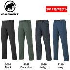 MAMMUT マムート CHALK Boulder Pants Men チョークボルダーパンツ メンズ 1020-11790 ■アウトドア 登山 クライミング ボルダリング トレッキング ストレッチ パンツ ボトムス