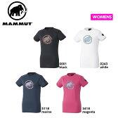 MAMMUT マムート 【17年新作】Tシャツ QD GYPSUM T-SHIRTS WOMEN トップス QD ジプサム Tシャツ 1041-10070 0001/0243/5118/3418 レディース■アウトドア 登山 クライミング ボルダリング