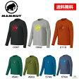 MAMMUT マムート Mammut Logo Longsleeve マムート ロゴ ロングスリーブ 長袖 Tシャツ 1041-07080 ■アウトドア 登山 クライミング ボルダリング