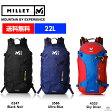 ミレー MILLET 【22L】メンズ リュックサック バッグ 鞄 PROLIGHTER 22 プロライター 22 MIS1847 ■アウトドア 登山 バックパック 軽量 山登り