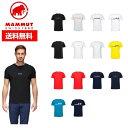 21春夏 MAMMUT マムート メンズ QD Logo Print T-Shirt AF Men 1017-02011