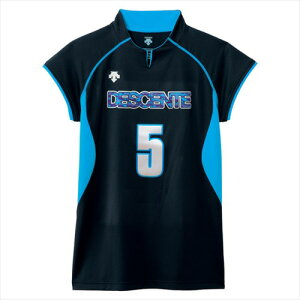 【DESCENTE】デサント DSS4430-BBL フレンチスリーブゲームシャツ [バレーボール][ゲームシャツ・パンツ]年度:14FW【RCP】