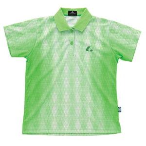 【LUCENT】ルーセントXLP4645PLADIESゲームシャツ(パステルグリーン)[卓球/ゲームシャツ]年度:15SS【RCP】