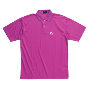 【LUCENT】ルーセントXLP5092Uniポロシャツ[ベリーピンク][テニス/ゲームシャツ]年度:14FW【RCP】