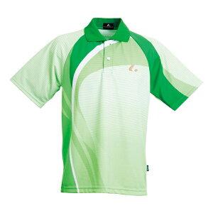 【LUCENT】ルーセントXLP7735Uniゲームシャツ/ポロシャツ[グリーン][テニス/ゲームシャツ]年度:14FW【RCP】