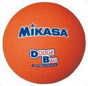 【MIKASA】ミカサ D2-O 教育用ドッジボール2号 [オレンジ][ハンドボール/ドッヂボール][ボール]年度:14【RCP】