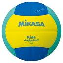 【MIKASA】ミカサSD00YLG ドッジボール スマイルドッジボール0号キッズドッジボール0号 [イエロー×ライトグリーン][ドッヂボ−ル キッズドッッヂボー