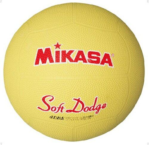 【MIKASA】ミカサ STD1R-Y ソフトドッジボール 1 号 [イエロー][ハンドボール/ドッヂボール][ボール]※小型宅配便発送不可※年度:14【RCP】