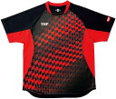 ■送料無料■【TSP】VICTAS 031431-0020 ゲームシャツ チェッカーグラデシャツ[ブラック]【卓球用品】ゲー...
