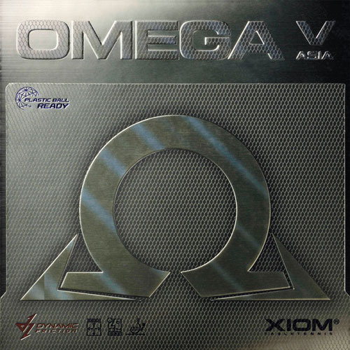 卓球, 卓球用ラバー XIOM 10271(095861) 5 DF OMEGA V AsiaV-RCP