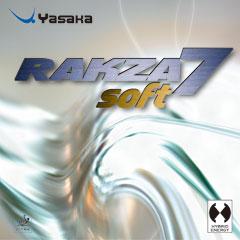 /あす楽 ■卓球ラバーメール便■ Yasaka ヤサカラクザ7ソフトB-77軟らかく軽く使いやすくなったRAKZA7SOFT