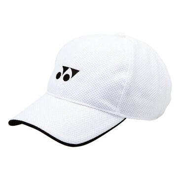 【YONEX】ヨネックス 40002J-011 ジュニアメッシュキャップ [ホワイト][テニス/帽子]年度:14※小型宅配便発送不可【RCP】