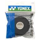 【YONEX】ヨネックス AC1025-007 ウェットスーパーグリップ詰め替え用(5本入) [ブラック][テニス/グッズその他]年度:14※小型宅配便発送不可【RCP】