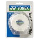 【YONEX】ヨネックス AC1025P-011 ウェットスーパーグリップ5本パック(5本入) [ホワイト][テニス/グッズその他]年度:14※小型宅配便発送不可【RCP】