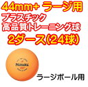 ニッタク(Nittaku) 卓球 ボール 練習 ラージボール 2スター プラ44 2ダース入り NB-1072