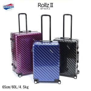 サムソナイト/samsonite アメリカンツーリスター ロールズ2(Rollz) 15Q*005 65cm 60L フレーム スーツケース( かわいい バッグ キャリーバッグ おしゃれ 海外旅行 キャリーケース キャリー ケース 出張