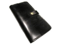 【送料無料!】 GLENROYAL(グレンロイヤル)/ROUND LONG PURSE(長財布)/bridle leather/blac...