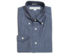 Individualized Shirts Color Fill Chambray Shirt