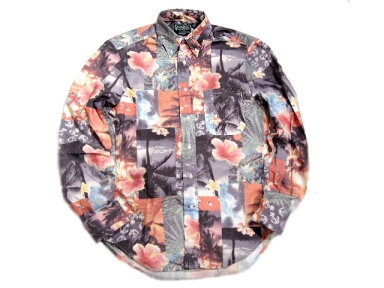 Gitman Vintage Summer Surf Print Shirt