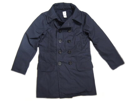 Post Overalls 2113RL PC Poplin Long Peacoat: Navy