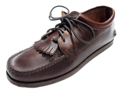 Yuketen Blucher w/ Kiltie 15331KM: G Brown