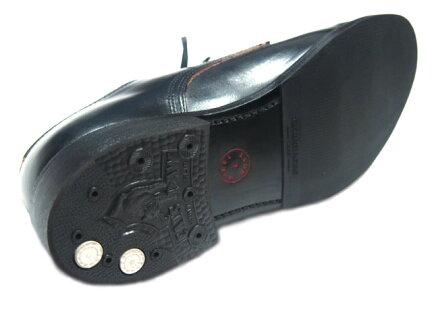 Wheelrobe Chromexcel Heavy Stitching Moc Toe 15078: Black