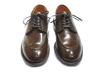 Wheelrobe Cordovan Heavy Stitching Moc Toe 15078C: Brown