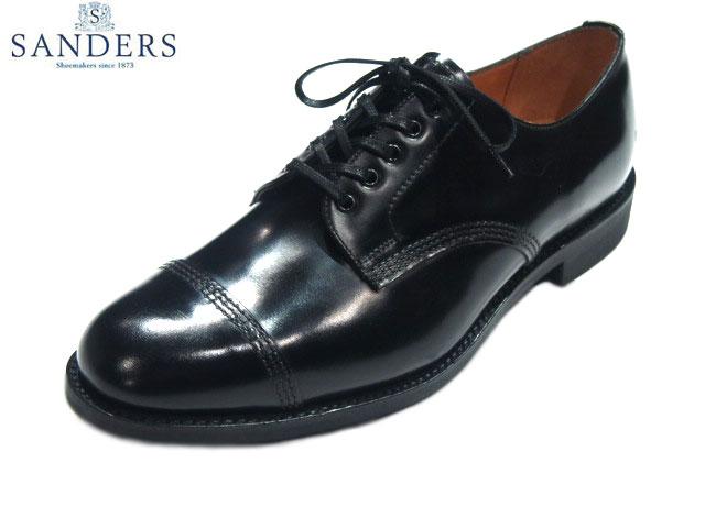 メンズ靴, ビジネスシューズ SANDERS1128 MILITARY DERBY SHOEblack