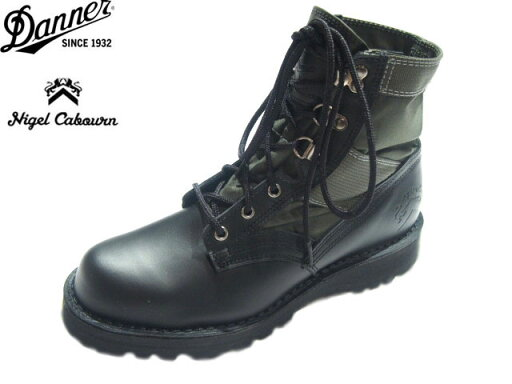 Nigel Cabourn NAM Boots 80362662000: Black / Green