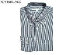 Individualized Shirts Pinpoint Oxford Stripe Shirt