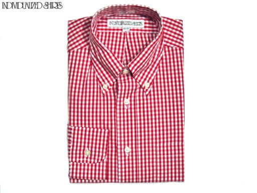 Individualized Shirts Standard Fit Gingham Buttondown Shirt