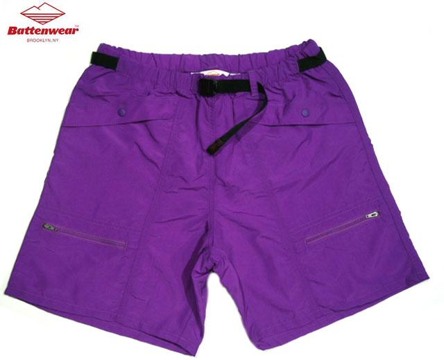 メンズファッション, ズボン・パンツ 30OFFBATTEN WEARCAMP SHORTSpurple